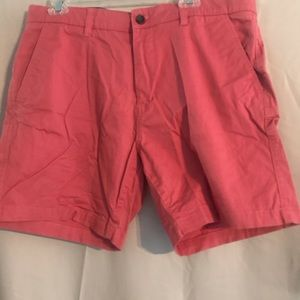 Men's crown & Ivy,size 36, coral colored shorts